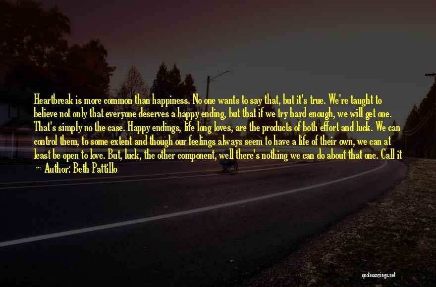 We Are Happy Love Quotes By Beth Pattillo