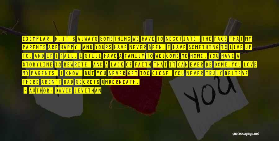 We Are Happy Love Quotes By David Levithan