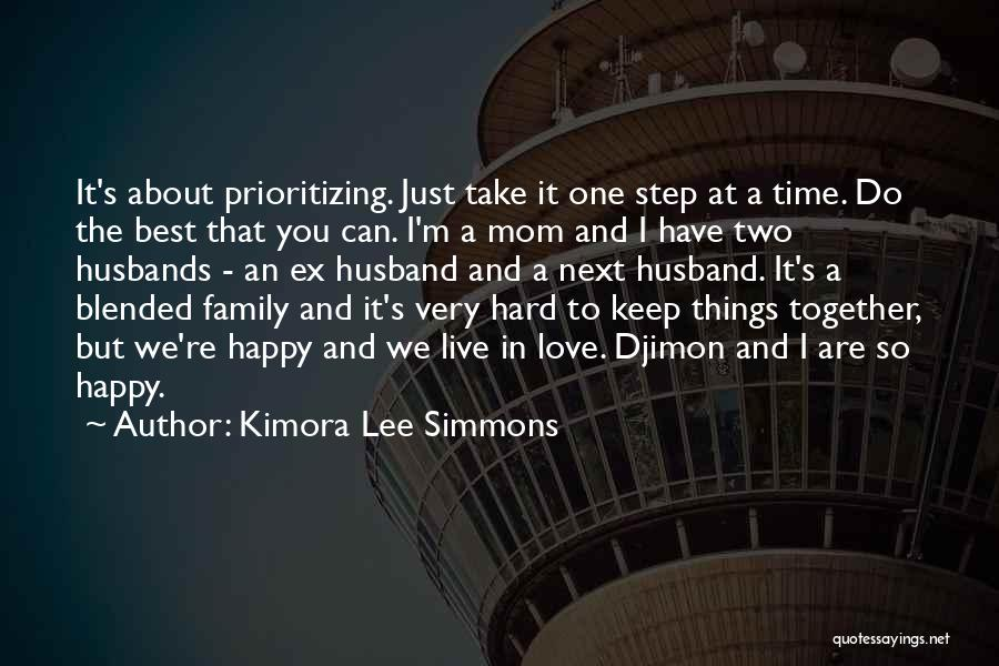 We Are Happy Love Quotes By Kimora Lee Simmons