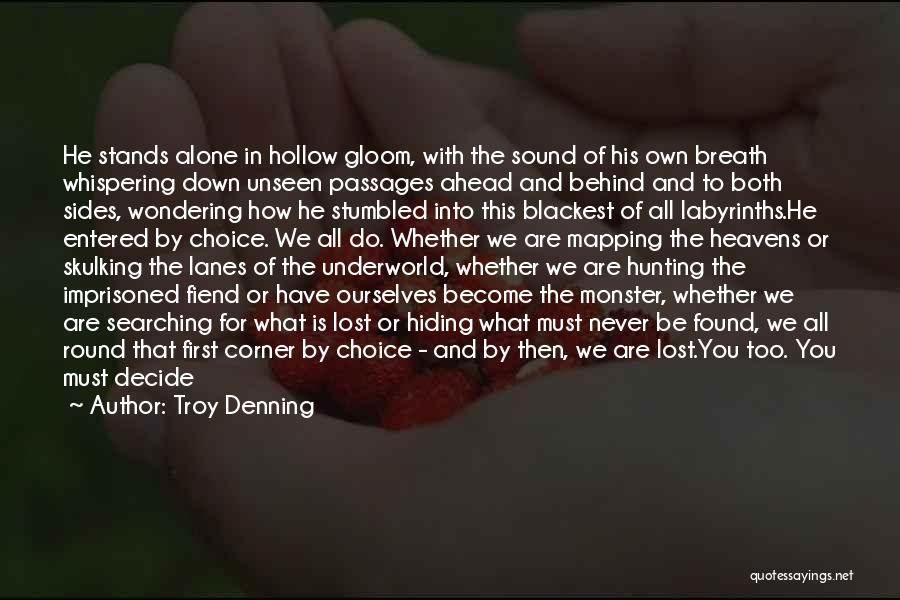 We Are Never Alone Quotes By Troy Denning