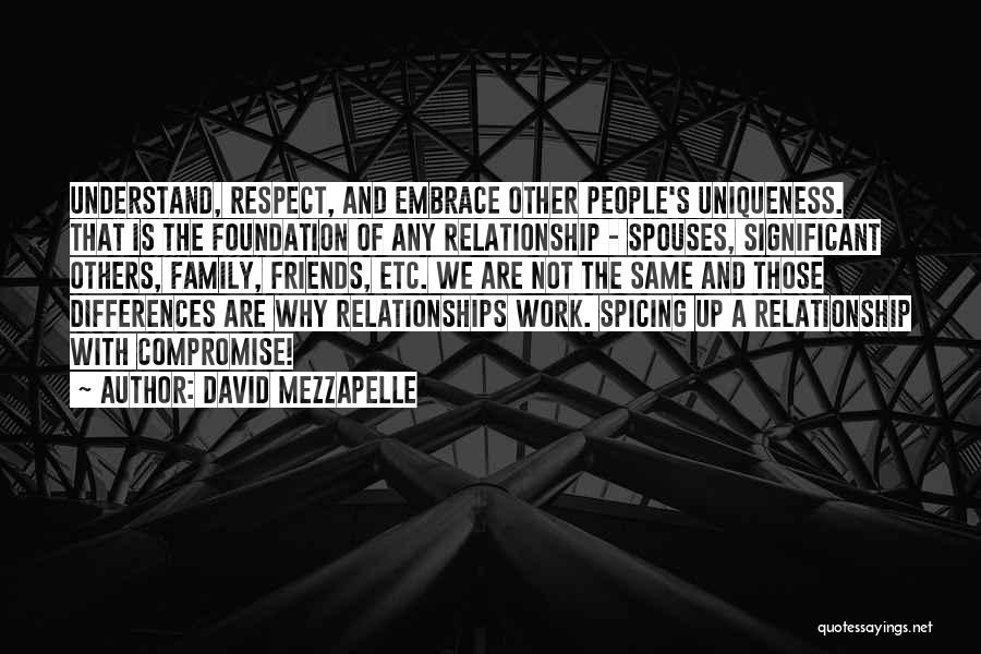We Are Not Friends We Are Family Quotes By David Mezzapelle