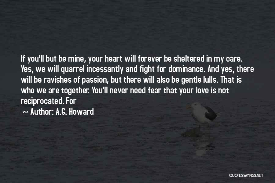 We Are Together Forever Quotes By A.G. Howard