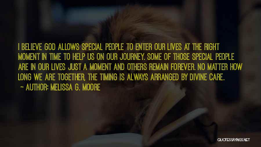 We Are Together Forever Quotes By Melissa G. Moore