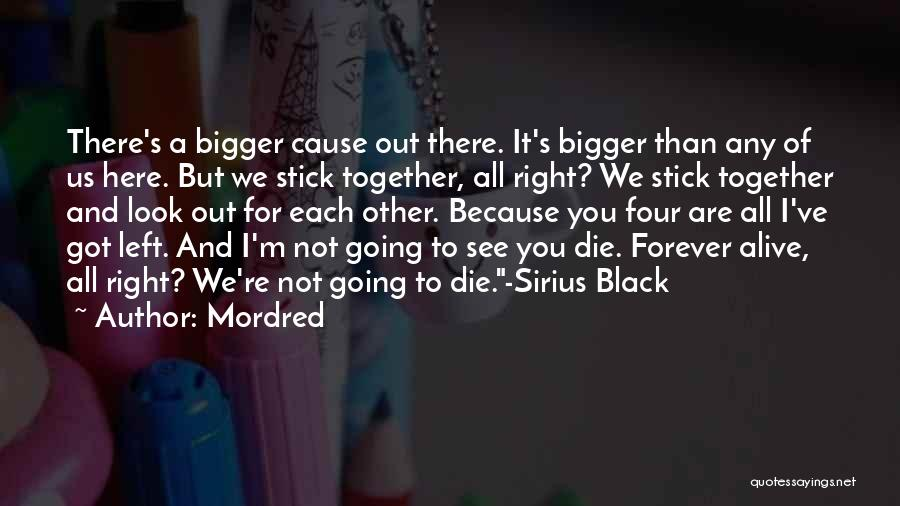 We Are Together Forever Quotes By Mordred