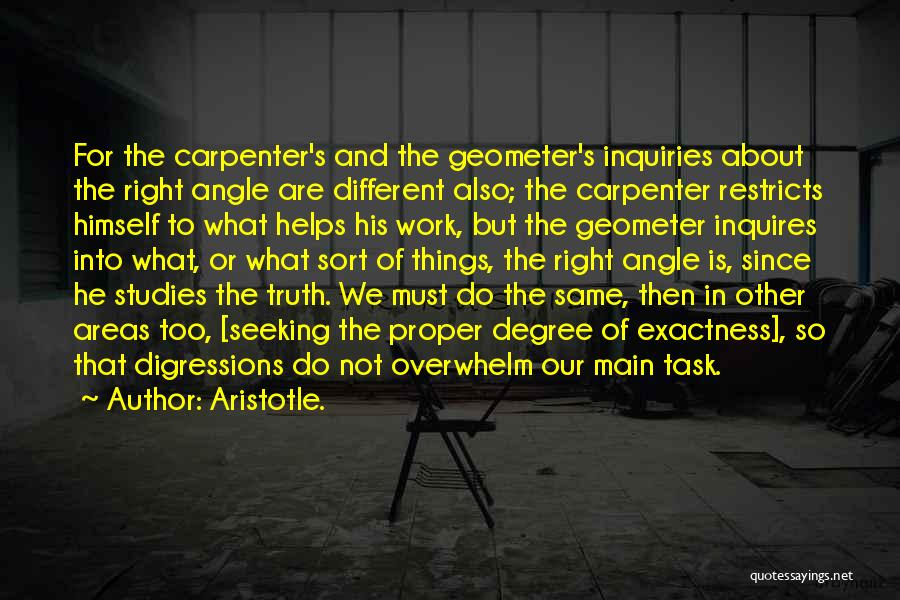 We Are Too Different Quotes By Aristotle.