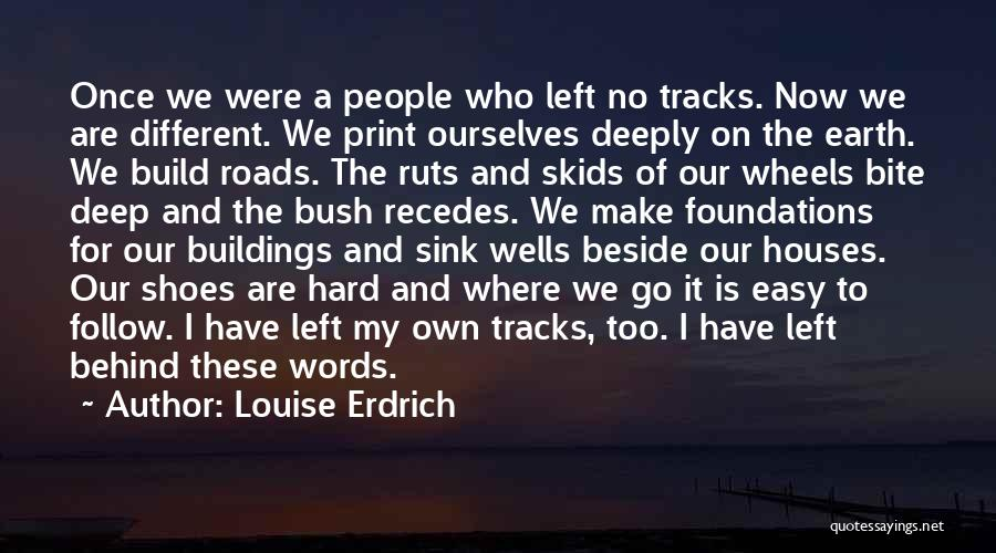 We Are Too Different Quotes By Louise Erdrich