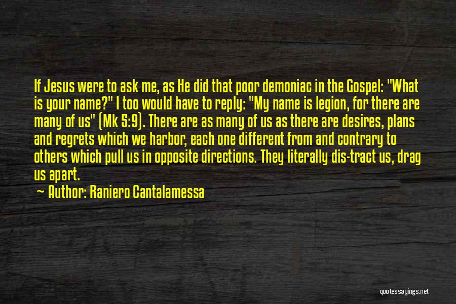 We Are Too Different Quotes By Raniero Cantalamessa