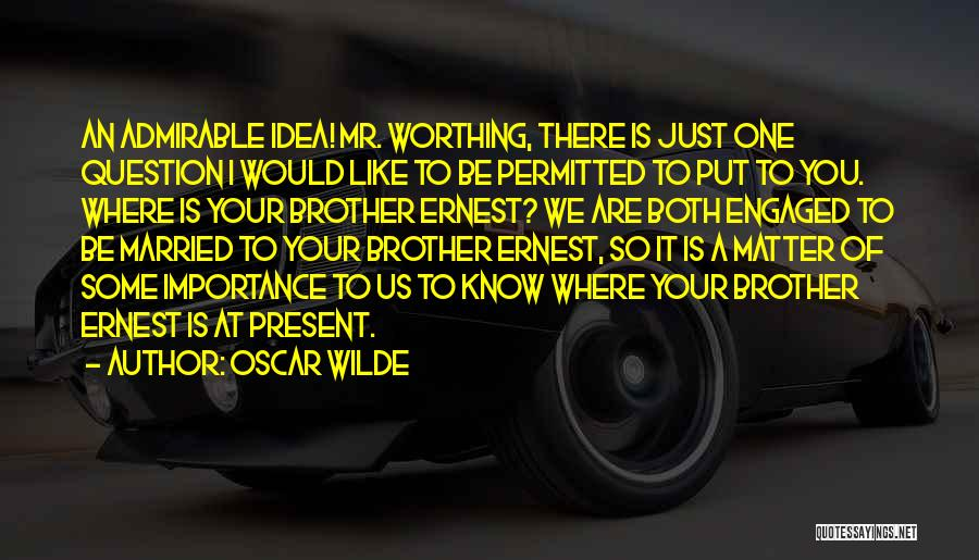 We Both Are One Quotes By Oscar Wilde