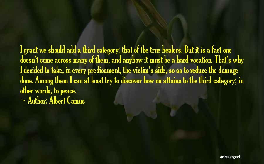 We Can Try Quotes By Albert Camus