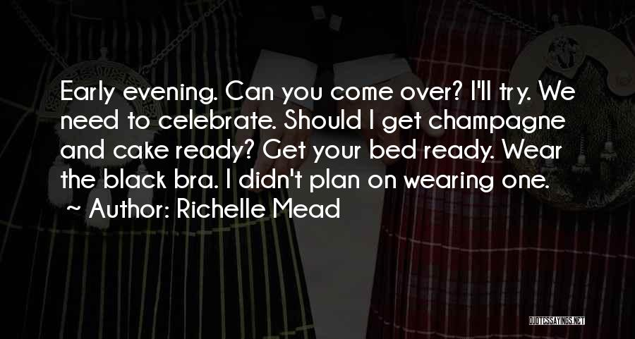 We Can Try Quotes By Richelle Mead