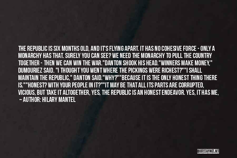 We Can't Be Together Quotes By Hilary Mantel