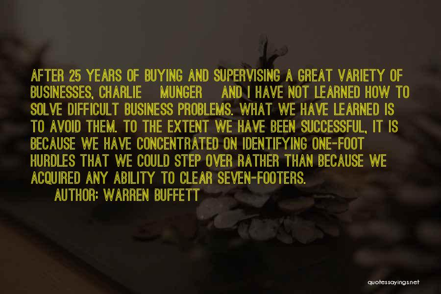 We Could Have Been Great Quotes By Warren Buffett