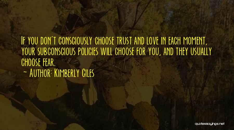 We Don't Choose Who We Love Quotes By Kimberly Giles