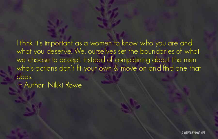 We Don't Choose Who We Love Quotes By Nikki Rowe