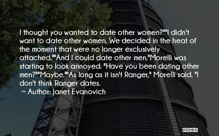 We Don't Date Quotes By Janet Evanovich