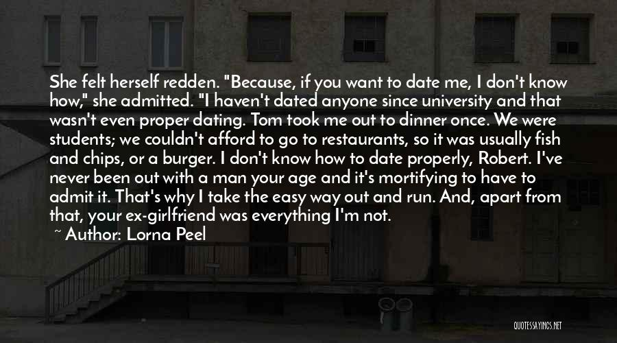 We Don't Date Quotes By Lorna Peel