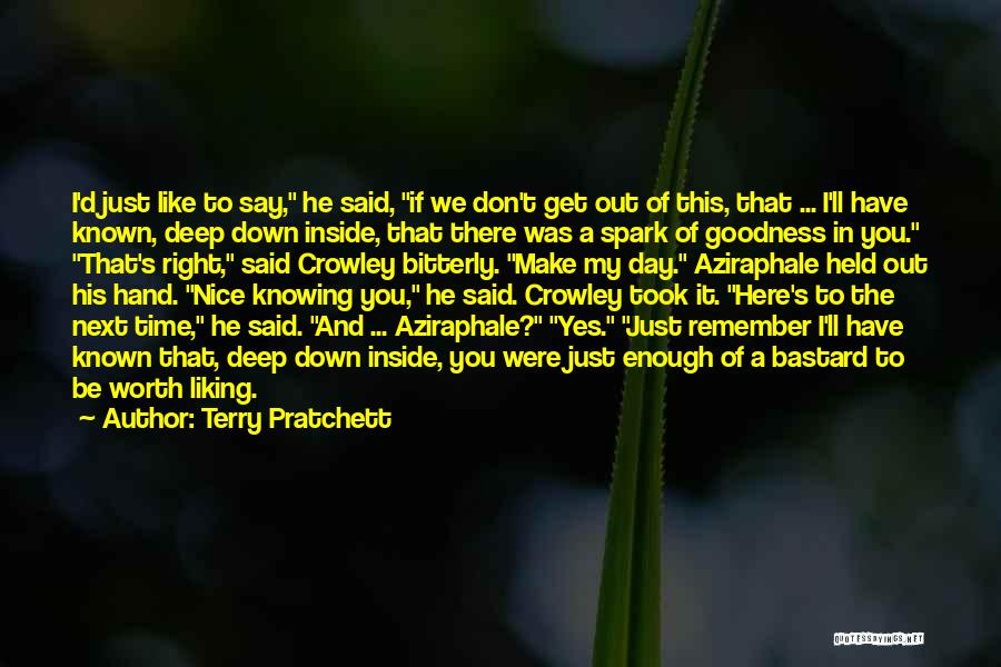 We Don't Have Enough Time Quotes By Terry Pratchett