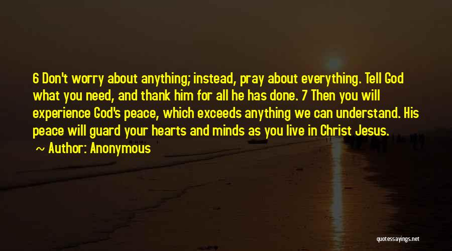 We Don't Need You Quotes By Anonymous