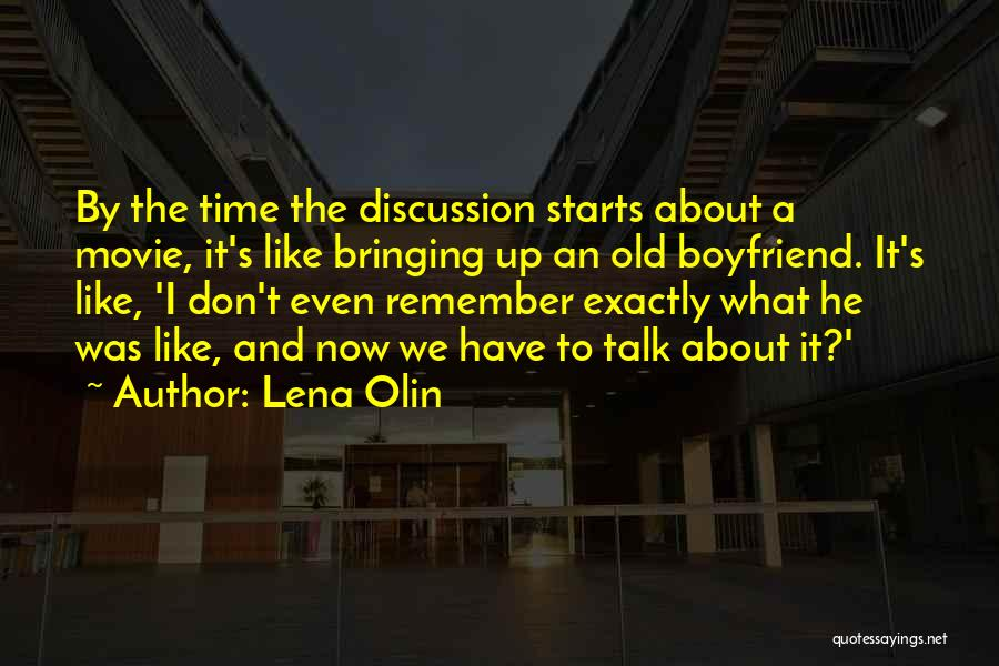 We Don't Talk Now Quotes By Lena Olin