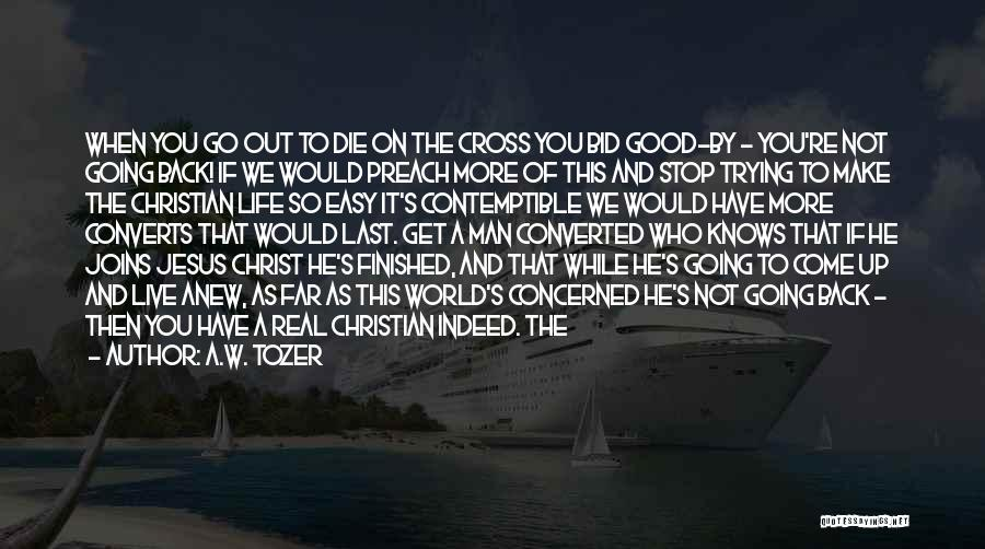 We Have Come So Far Quotes By A.W. Tozer