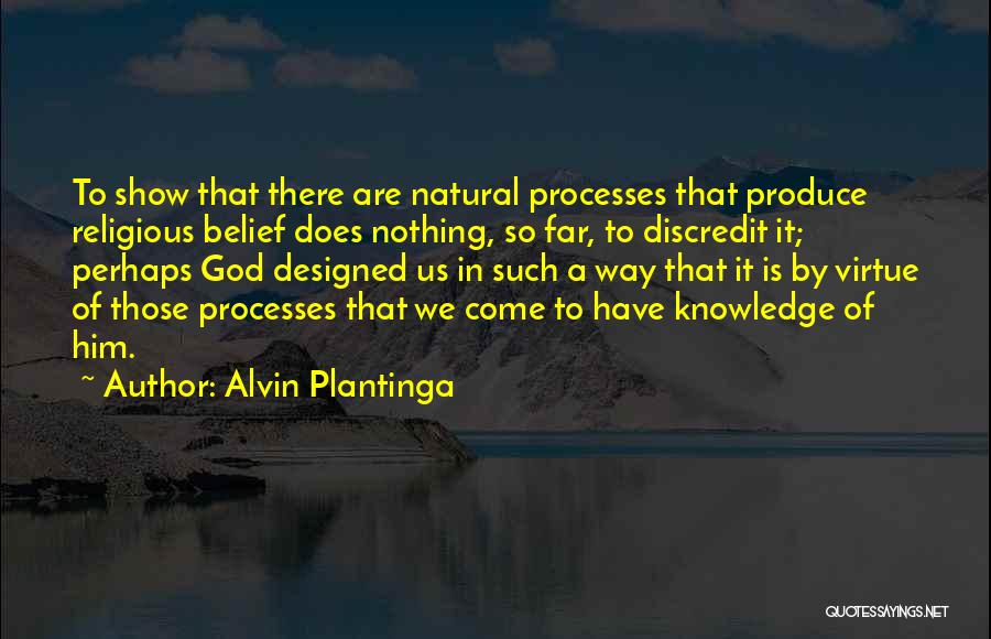 We Have Come So Far Quotes By Alvin Plantinga