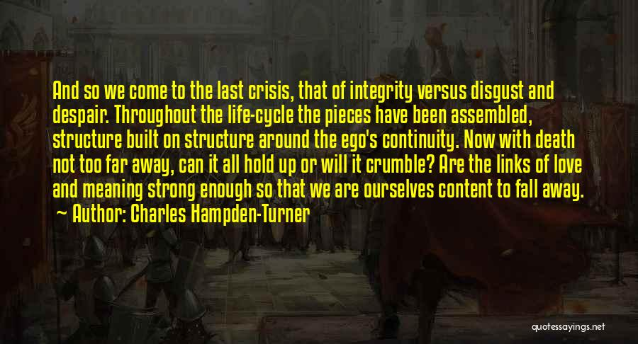 We Have Come So Far Quotes By Charles Hampden-Turner