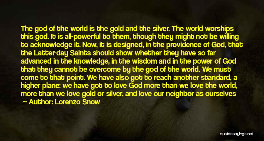 We Have Come So Far Quotes By Lorenzo Snow