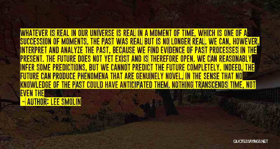 We Have Nothing But Time Quotes By Lee Smolin