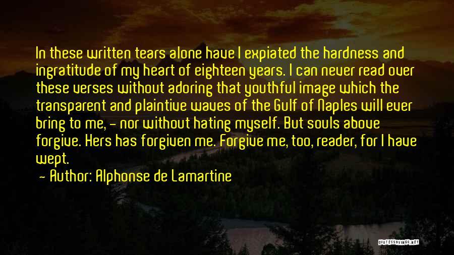 We Heart It Transparent Quotes By Alphonse De Lamartine