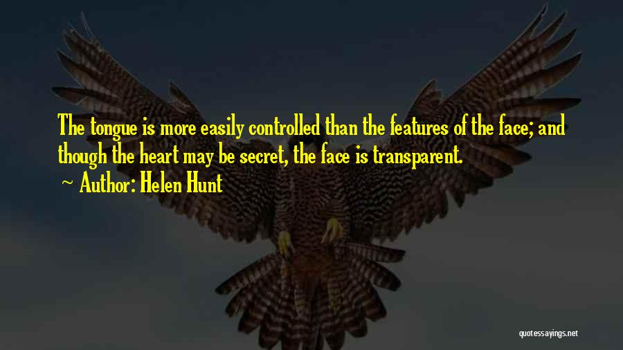 We Heart It Transparent Quotes By Helen Hunt