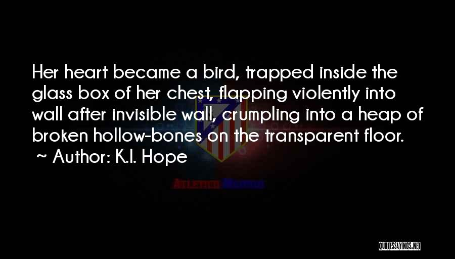We Heart It Transparent Quotes By K.I. Hope