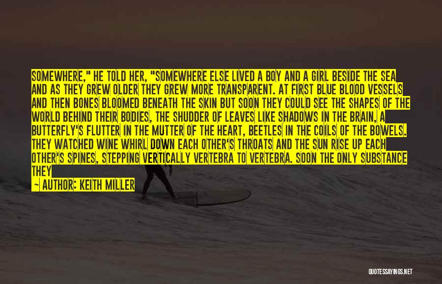 We Heart It Transparent Quotes By Keith Miller