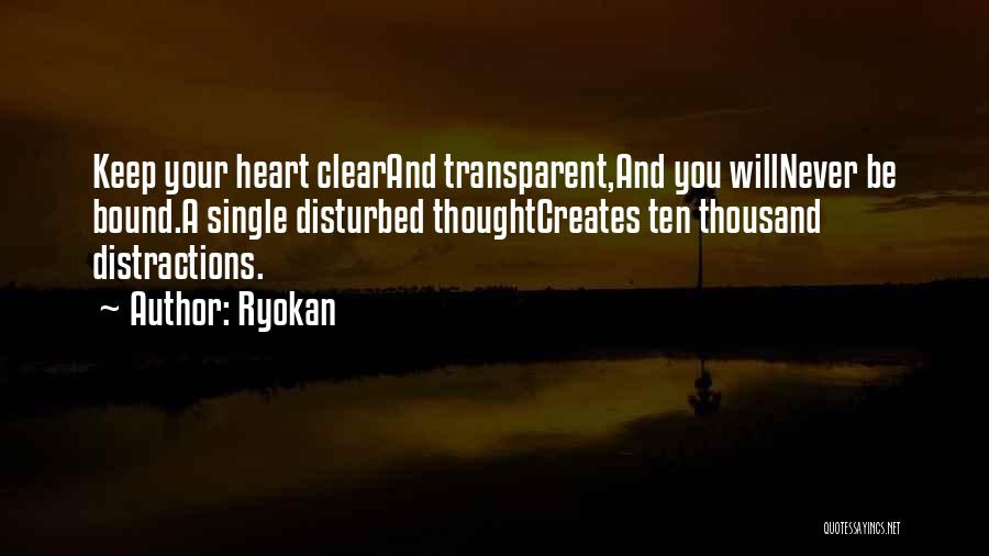 We Heart It Transparent Quotes By Ryokan