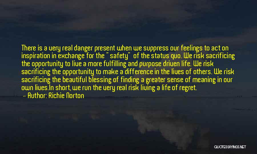 We Live For Others Quotes By Richie Norton