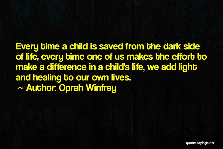 We Make Our Own Life Quotes By Oprah Winfrey