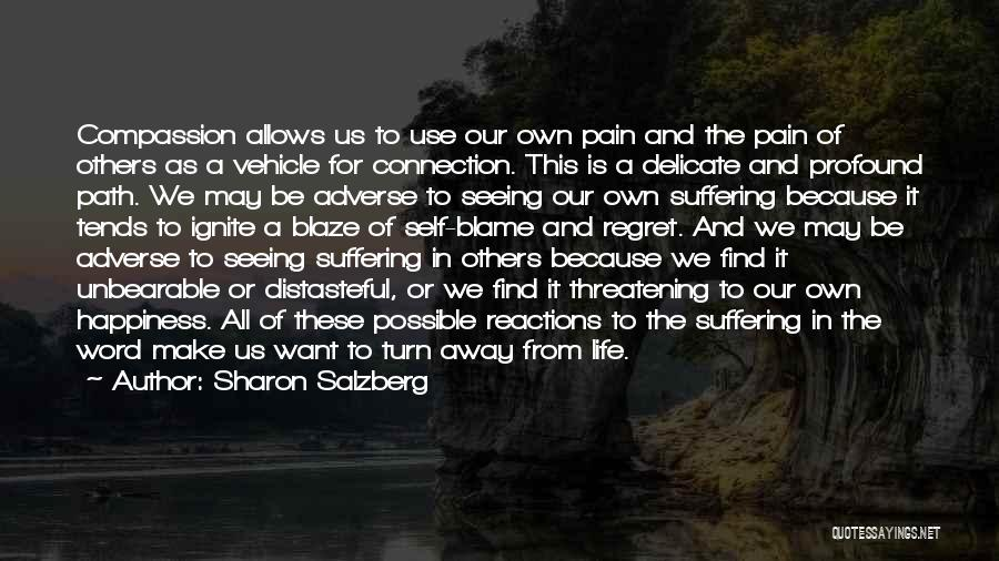 We Make Our Own Life Quotes By Sharon Salzberg