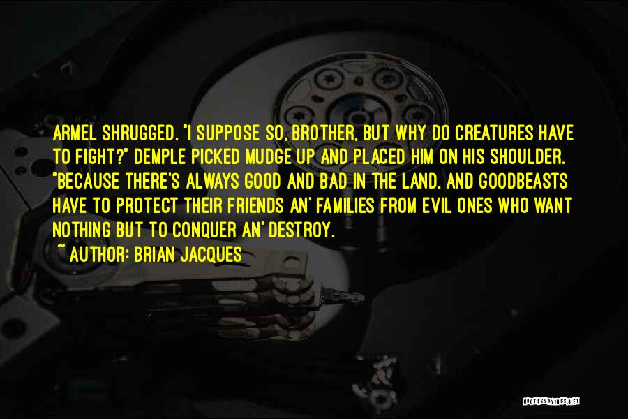 We May Fight Brother Quotes By Brian Jacques