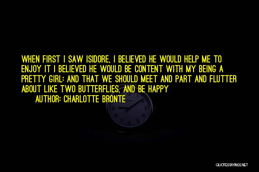 We Meet To Part Quotes By Charlotte Bronte