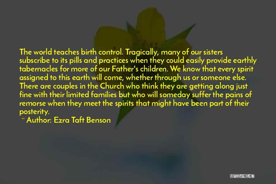 We Meet To Part Quotes By Ezra Taft Benson