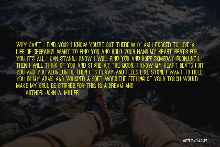 We Meet To Part Quotes By John A. Miller
