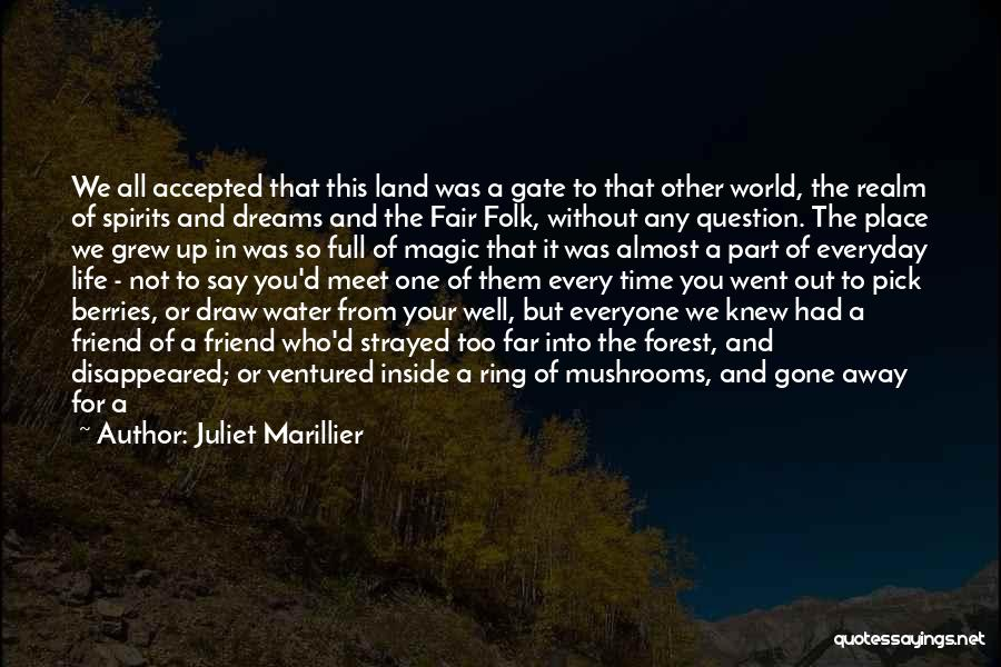 We Meet To Part Quotes By Juliet Marillier