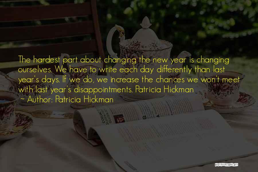 We Meet To Part Quotes By Patricia Hickman