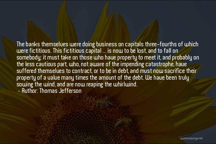 We Meet To Part Quotes By Thomas Jefferson