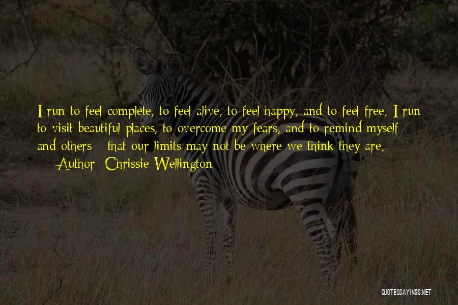 We Run Free Quotes By Chrissie Wellington