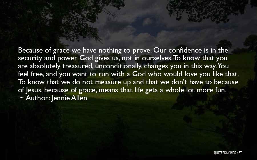 We Run Free Quotes By Jennie Allen