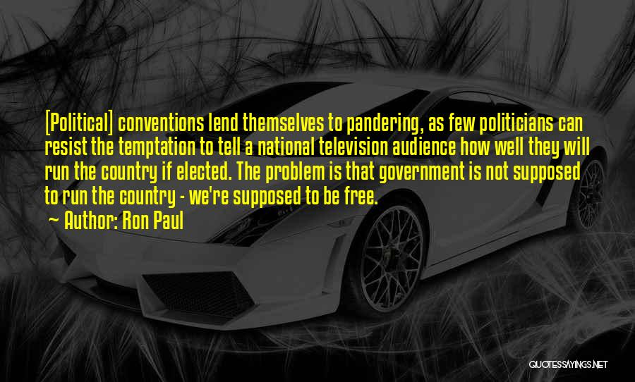 We Run Free Quotes By Ron Paul