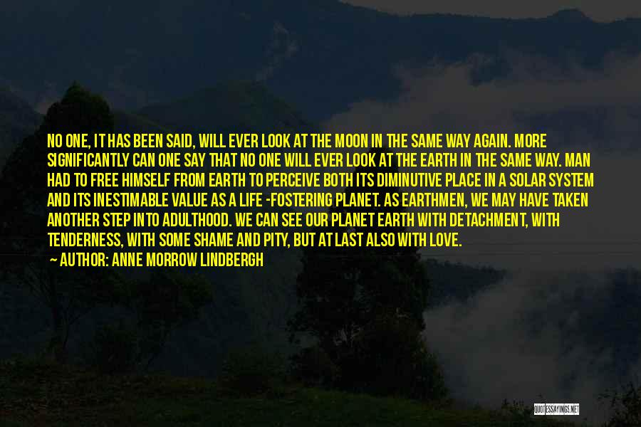 We See The Same Moon Quotes By Anne Morrow Lindbergh