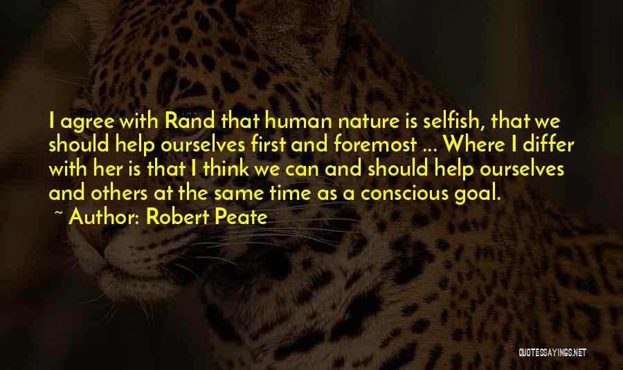 We Should Help Others Quotes By Robert Peate