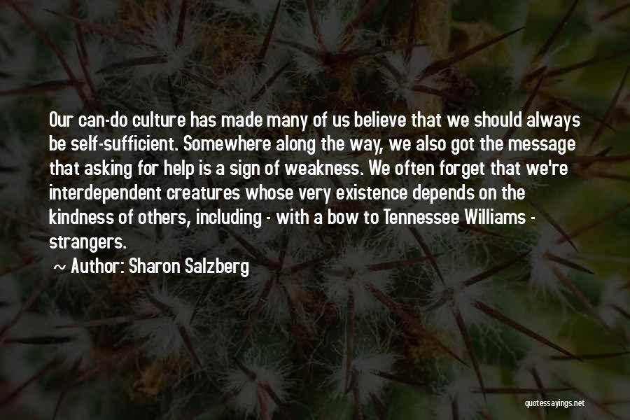 We Should Help Others Quotes By Sharon Salzberg