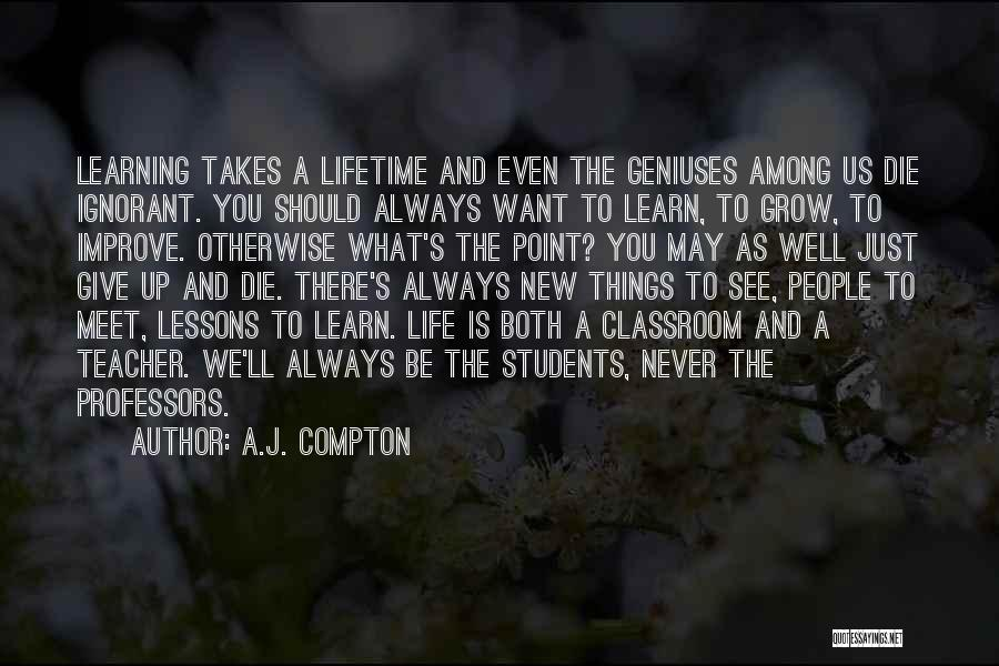 We Should Meet Quotes By A.J. Compton